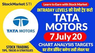 07 July share price targets tata motors | tata motors share news | TATAMOTOR stock intraday tips