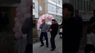 Так в Токмаке провожают невесту