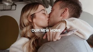 NEW HOME TOUR! | first look at our new toronto apartment