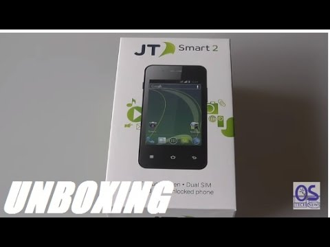 Unboxing: JT Smart 2 Unlocked Budget Android Smartphone!