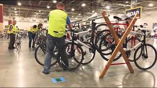 2018 Bike Expo Sale time lapse