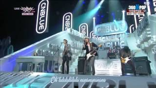 vietsub perf cnblue la la la i m sorry live 130125 music bank boice team 360kpop