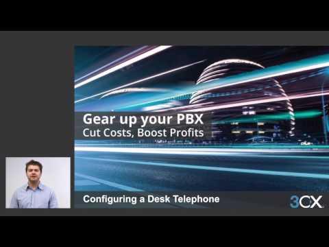 CONFIGURING A DESKTOP TELEPHONE V15
