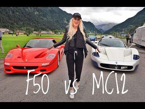 Ferrari F50 Vs. Maserati MC12   Supercar Owners Circle