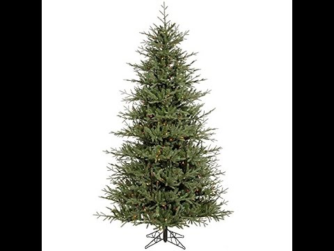 Most Real Looking Artificial Christmas tree Under 10ft - YouTube