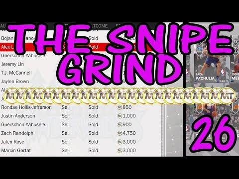NBA 2K18 MyTEAM - The Snipe Grind Ep. 26  4 CRAZY AMETHYST SNIPES !!