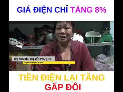 GIÁ ĐIỆN TĂNG 8% MÀ TIỀN ĐIỆN TĂNG GẤP ĐÔI