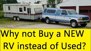Buying a RV? Used vs New