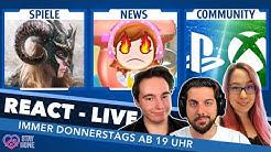 Neues AC, Streit um Cooking Mama, Next Gen plus EURE Spiele-Themen in REACT Live