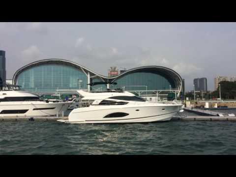 中鋼   八五大樓   亞灣遊艇碼頭   高雄展覽館   高雄港觀光   占岸輪船