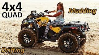 Girls on ATV