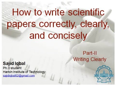 writing research papers for science and technology Making it easier to remember writing a efficient reading of papers in science do you know relevant research that isn't cited.