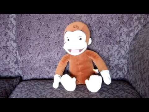 TICKLE N GIGGLE CURIOUS GEORGE THE MONKEY