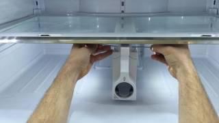 Samsung refrigerator glass she…
