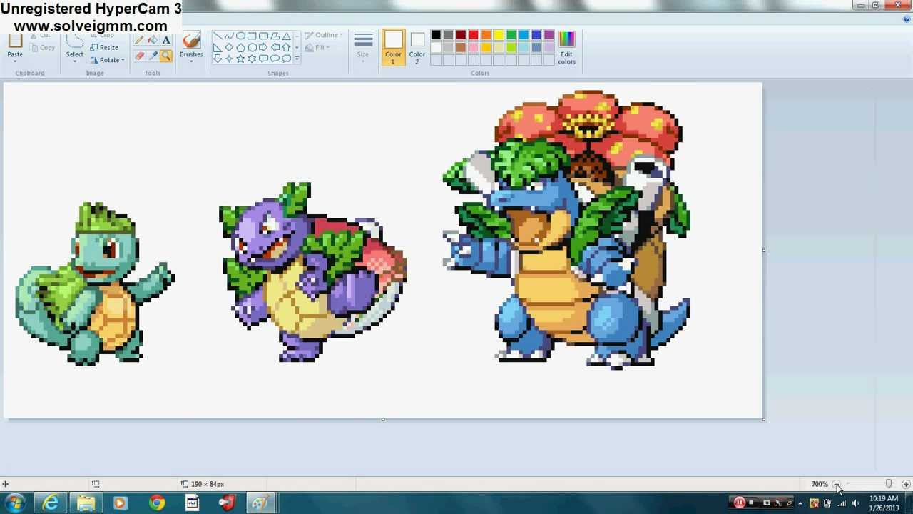 Squirbulb Ivywar And Venustoise Youtube