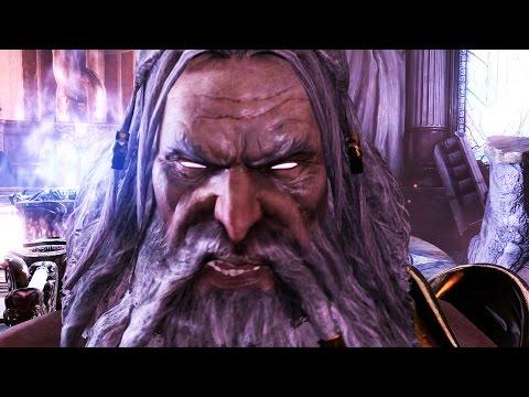 God of War 3 Remastered: Zeus Final Boss Fight PS4 1080p 60fps