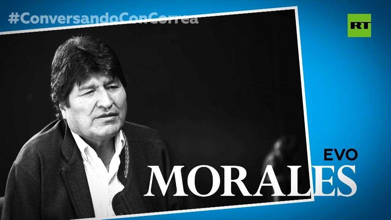 """Evo Morales a Correa: """"El litio jugó un factor importante en el golpe de Estado"""""""