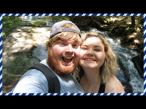 FALL BRANCH FALLS + DOWNTOWN BLUE RIDGE GEORGIA [DAY 153]