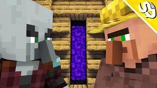 Village & Pillage Life (Minecraft Animation)