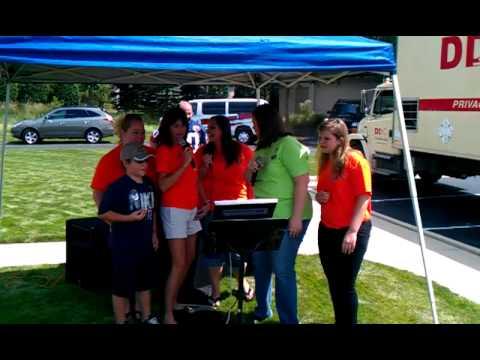 NorthStar Credit Union Community Day staff karaoke