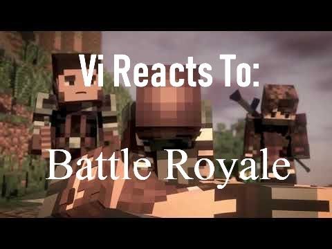 Vi Reacts To: Battle Royale+Bloopers by Black Plasma Studios: WE GOING PUBG STYLE HERE