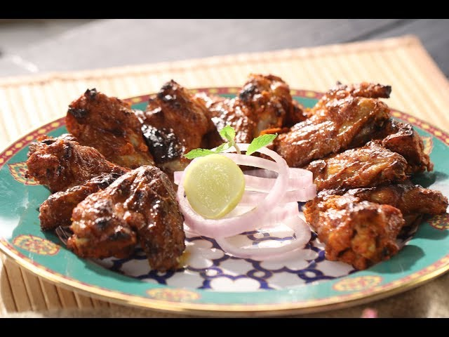 Download Tandoori Chicken Wings Sanjeev Kapoor Khazana Mp4 Video Recipe Cook 2021