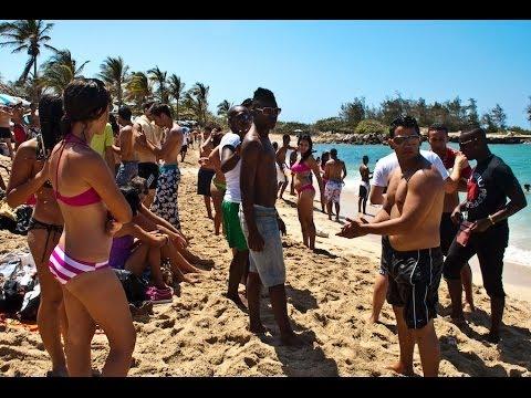 Cuban beach party summer 2012
