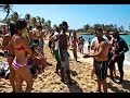 Cuban beach party summer 2012