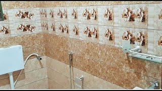 Latest Beautiful Attach Bathroom for Home, Office & Hotel || bathroom tiles design