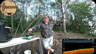 НАШЁЛ СТАРЫЙ ПРИЧАЛ В РУСЛЕ РЕКИ ЗАКИНУЛ ДОНКУ И НАЧАЛАСЬ РАЗДАЧА ЛЕЩ ЛЮБИТ САЛО Рыбалка на донки