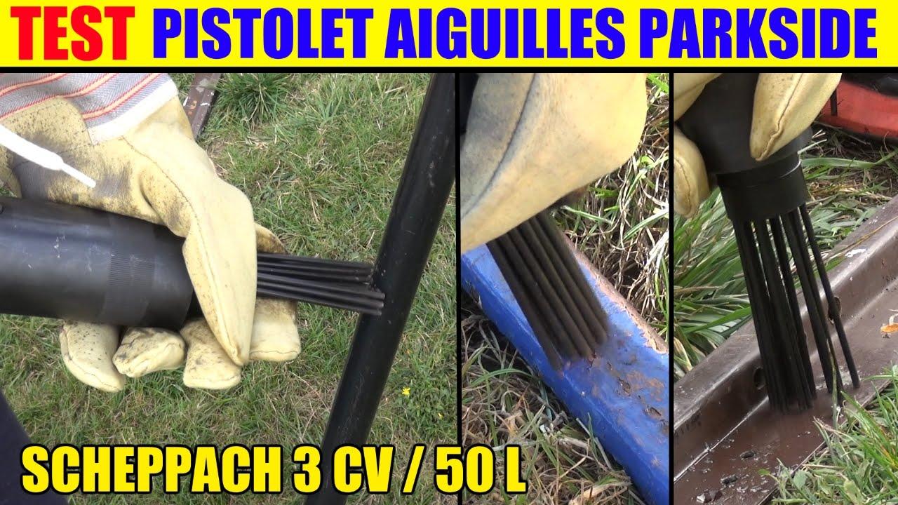 Pistolet A Aiguilles Lidl Parkside Compresseur Scheppach Hc52dc Test