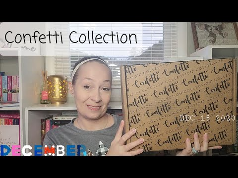 Confetti Collection Unboxing