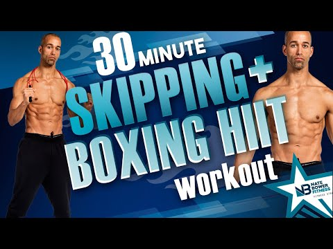 Skipping and Boxing Interval Workout thumbnail