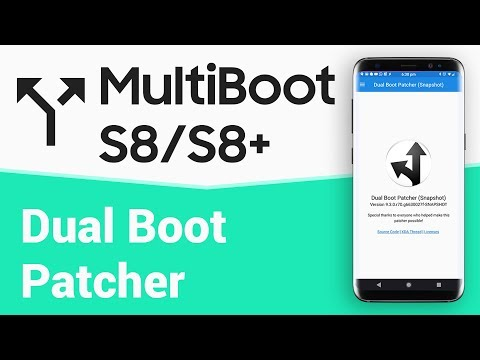 MultiBoot Patcher for S8/S8+ | Dual Boot ROMs - YouTube