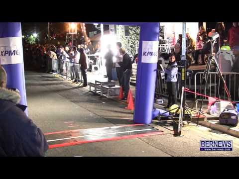 Adult Male Race At Front Street Mile, Jan 18 2013