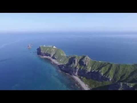 積丹神威岬 半月湖 羊蹄山 by 大河内健太郎 on YouTube