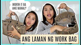 "WHAT'S IN MY ""MAMAHALING"" WORK BAG 🤣❤️ | rhaze"