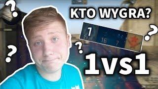 1vs1 w CS:GO KTO WYGRA? [Silver 2 z 200 HP vs MG1]