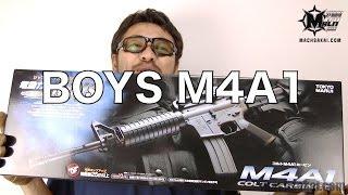 エアガン 開封 動画 東京マルイ コルト  M4A1カービン 電動ガン ボーイズ#59