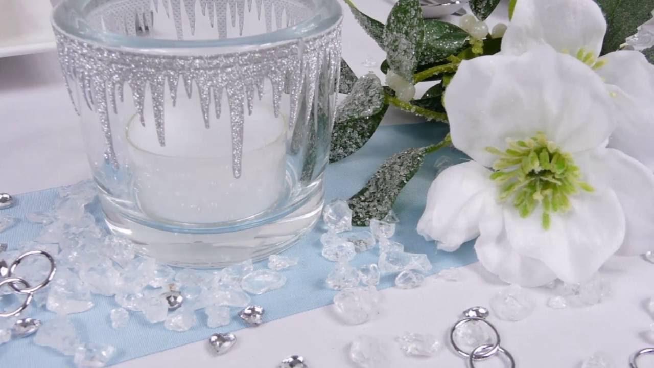 Tischdekoration Hochzeitsdekoration Winterhochzeit Mustertische