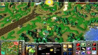 Battle Tanks WarCraft III тестовая демонстрация игры