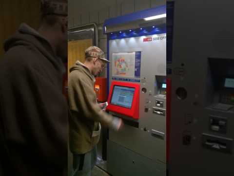 1st Swiss sbb machine sale of Bitcoin on 11 11 16