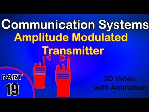 Amplitude modulated transmitter  |class 12 physics subject notes lectures|CBSE|IITJEE|NEET