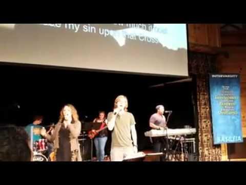 Worship team - Basileia on Saranac Lake, NY