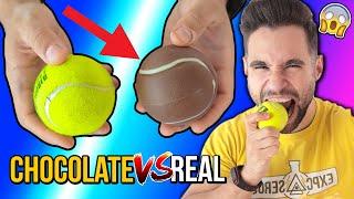 CHOCOLATE vs REAL