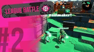 Splatoon 2 - Inkblot Art Acedemy & Sturgeon Shipyard Rainmaker [League Battle #2]