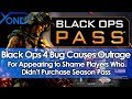 Black Ops 4 Bug Causes Outrage for Appearing to Shame Players Who Didn't Purchase Season Pass