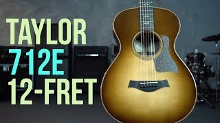 Taylor 712e 12-Fret Western Sunburst Guitar