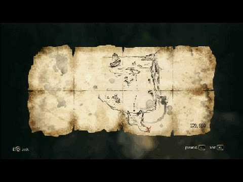 Assassin's Creed 4 - Treasure Map - 179, 593 Cape Bonavista
