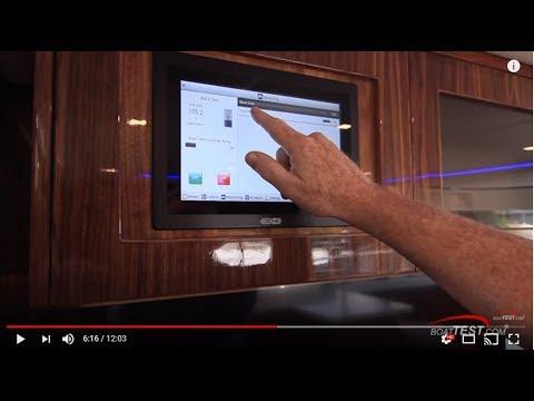 Riviera 5400 Sport Yacht with CZone Digital Switching
